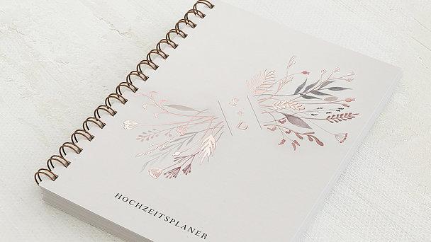 Hochzeitsplaner Spiralbindung - Hochzeitsplaner Wiesenblumen