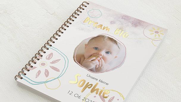 Baby-Tagebuch Spiralbindung - Babytagebuch Dream