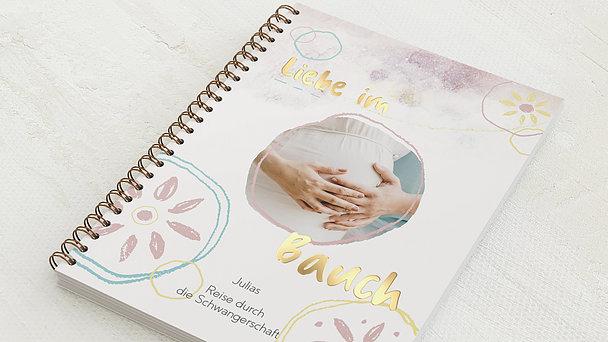 Schwangerschafts-Tagebuch Spiralbindung - Schwangerschaftstagebuch Dream