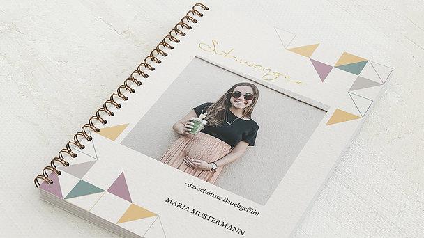 Schwangerschafts-Tagebuch Spiralbindung - Schwangerschaftstagebuch Geo