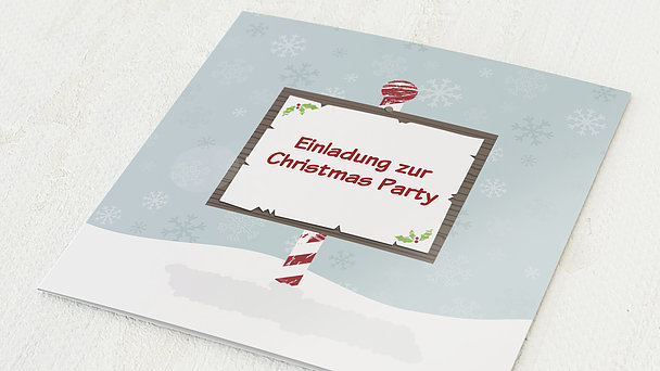Weihnachtsfeier - Hinweis