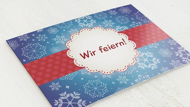 Weihnachtsfeier - Mistelzweig Foto
