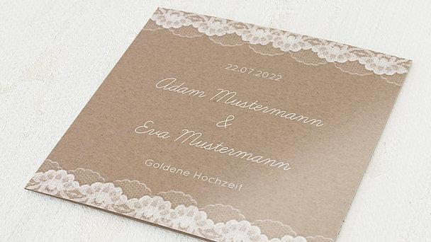 Goldene Hochzeit - Hochzeitsspitze