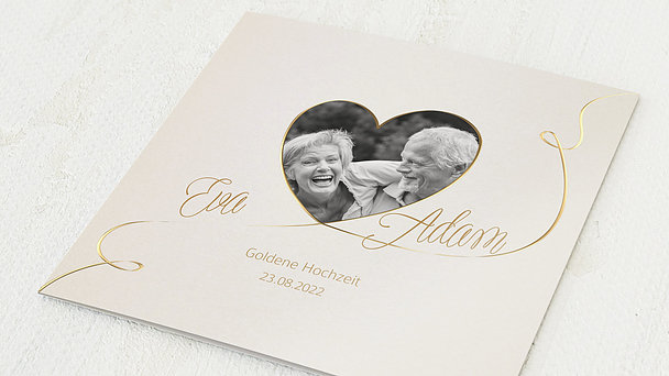 Goldene Hochzeit - Leichte Goldhochzeit