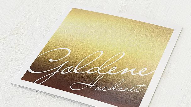 Goldene Hochzeit - Goldene Zeiten