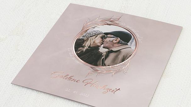 Goldene Hochzeit - Güldene Liebe