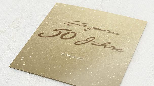 Goldene Hochzeit - Goldweg