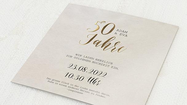 Goldene Hochzeit - Luftsprung für 50 Jahre