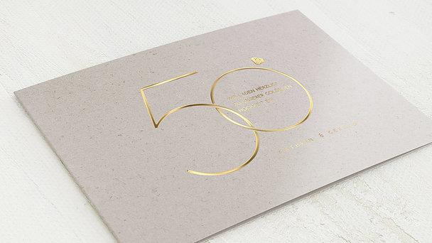 Goldene Hochzeit - Glänzendes Jubiläum