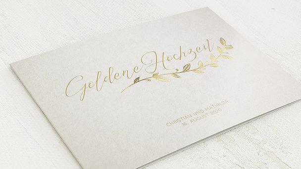 Goldene Hochzeit - Goldener Spross