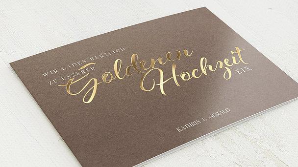 Goldene Hochzeit - Rustikale Eleganz