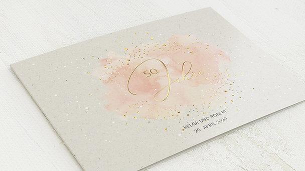 Goldene Hochzeit - Pastellzart
