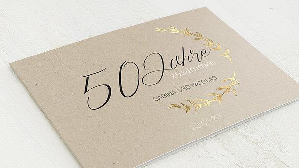 Goldene Hochzeit - Freudenjahre
