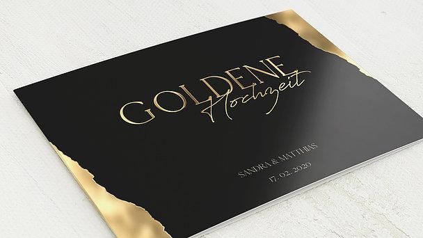 Goldene Hochzeit - Goldmassiv
