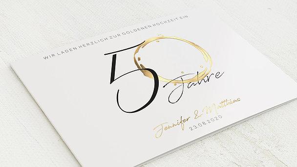 Goldene Hochzeit - Liebesspur