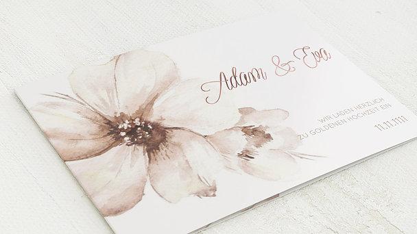 Goldene Hochzeit - Goldene Blütenpracht