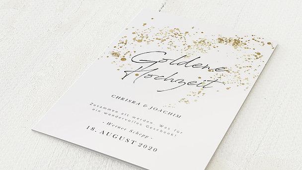 Goldene Hochzeit - Freudensprenkel