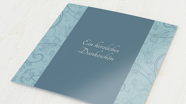 Danksagung Geburtstag - Card de Luxe