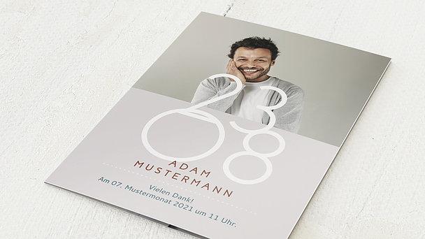 Danksagung Geburtstag - Feiern! 40