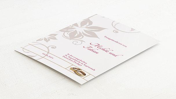 Kirchenheft - Weiße Hochzeit