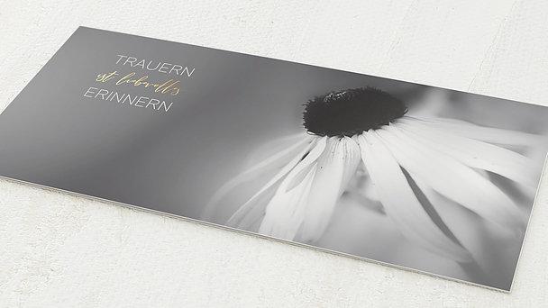 Trauerkarten - Blütenstempel