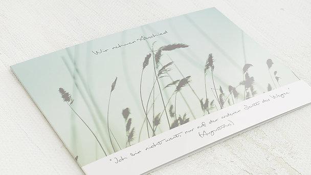Trauerkarten - Kornfeld