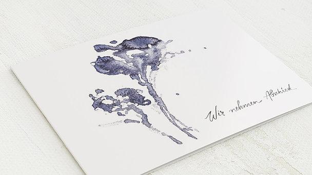 Trauerkarten - Dahlie