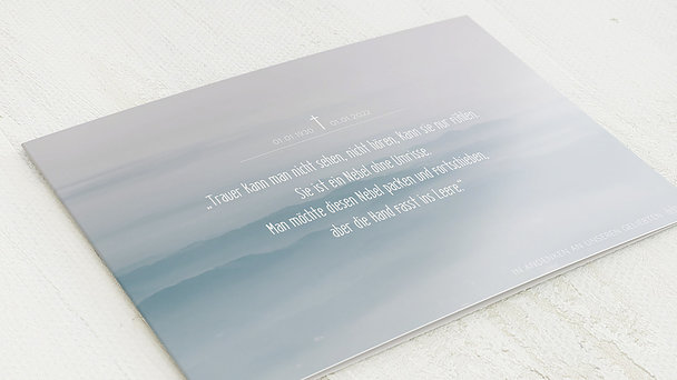 Trauerkarten - Horizonte