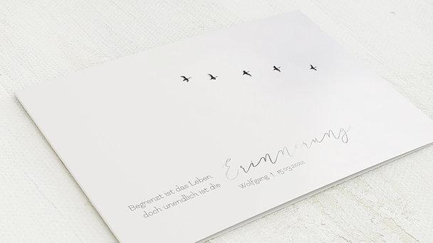 Trauerkarten - Zugwege