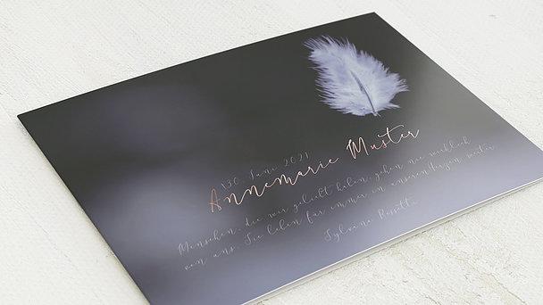 Trauerkarten - Federflug
