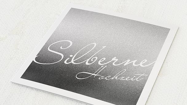 Silberhochzeit - Silberne Zeiten