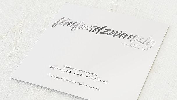 Einladungskarten Silberhochzeit Aus Vorlagen Selber Gestalten