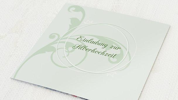 Silberhochzeit - silberne hochzeit einladung