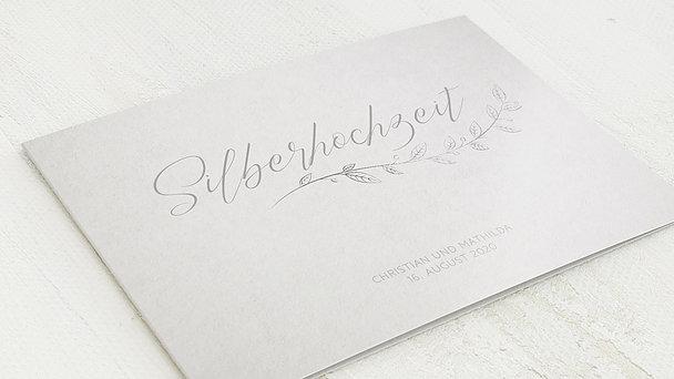 Silberhochzeit - Silberner Spross