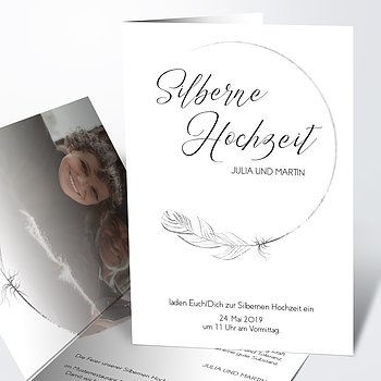 Silberhochzeit - Silberner Glücksfunke