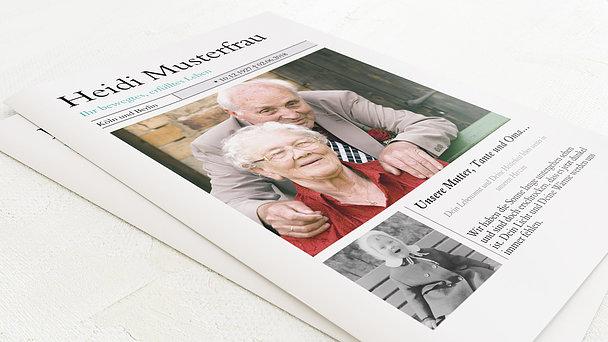 Gedenkzeitung - Zeitung