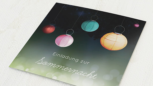 Sommerfest - Lampions