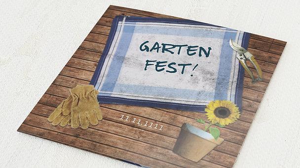 Sommerfest - Im heimischen Garten