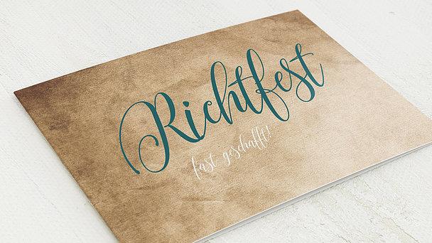 Richtfest - Kupferstich