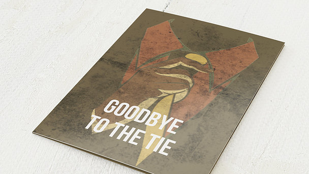 Jubiläum - Goodbye to the tie
