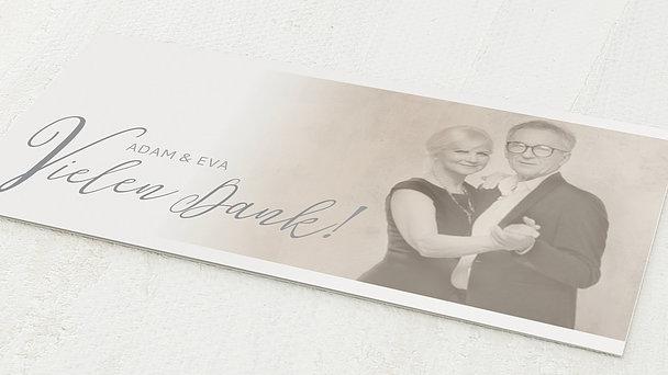 Danksagungskarten Silberhochzeit - 25 Jahre Bestimmung
