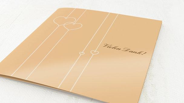 Danksagungskarten Silberhochzeit - Zeit der Liebe