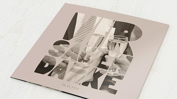 Danksagungskarten Silberhochzeit - Liebe durch und durch