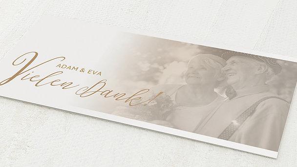 Danksagungskarten Goldene Hochzeit - 50 Jahre Bestimmung