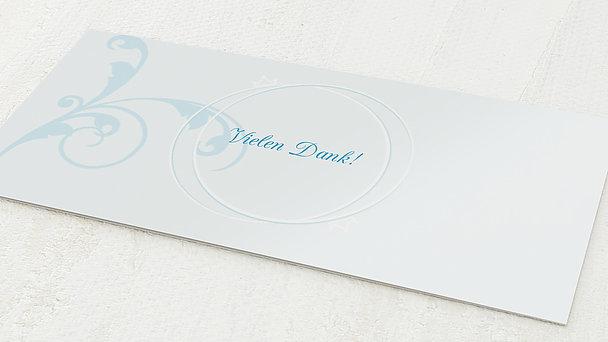 Danksagungskarten Goldene Hochzeit - Pastellblüte