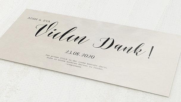 Danksagungskarten Goldene Hochzeit - Luftsprung für 50 Jahre