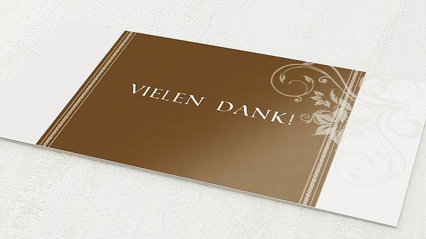 Danksagungskarten Goldene Hochzeit - Traumhochzeit