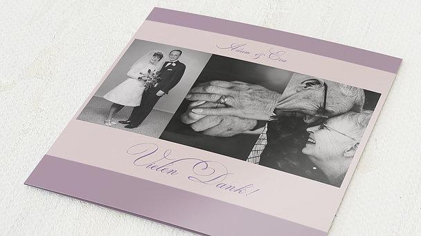 Danksagungskarten Goldene Hochzeit - Ja, ich will