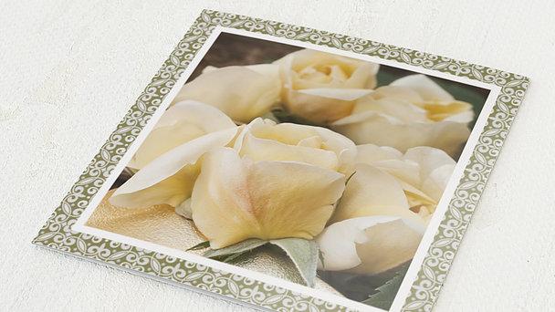 Danksagungskarten Goldene Hochzeit - Wunder der Liebe
