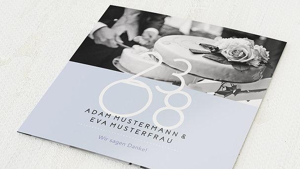Danksagungskarten Goldene Hochzeit - Married 50 years
